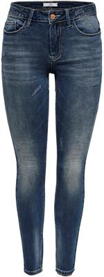 jdycarola skinny reg sup str mb dnm medium blue
