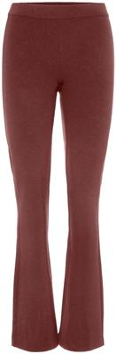 Vmkamma nw flared jersey pant Madder brown