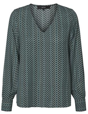 vmzenac ls v-neck top North atalantic/zenac