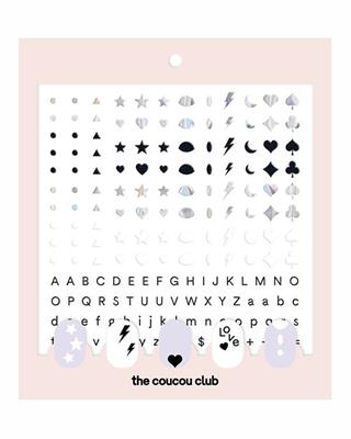The Coucou Club - Coucou Nail Art: The Basic Sheet - 2 st