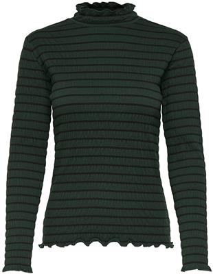 Jdyshilda l/s highneck top Scarab/stripe
