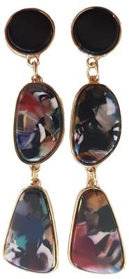 B-fashion earrings Multicolor/gold