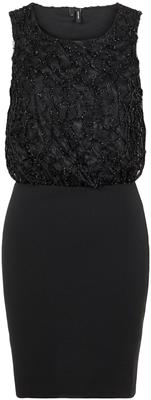 Vmdoris sl short dress jrs lcs Black glitsers