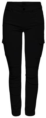 Onlmissouri reg ankle cargo pants Black
