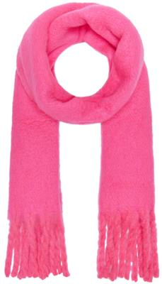 Onlemma solid heavy brushed woven scarf Knockout Pink