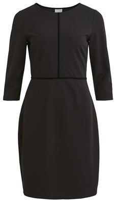 VIDANELLE 3/4 DRESS BLACK