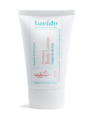 Lavido - Aromatic Body Lotion - Patchouli, Vanilla & Jojoba - 120 ml