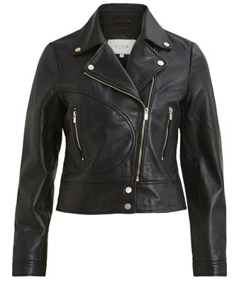 Viellys leather jacket Black