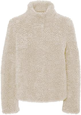 vmviriginiateddy high neck jacket oatmeal