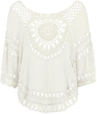 Hailys anny top White