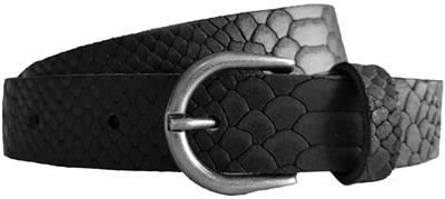 Rock n Rich snake belt black