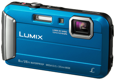 Panasonic DMC-FT30 Blauw