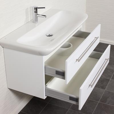 badmeubel keramag myday 100 cm wit. Black Bedroom Furniture Sets. Home Design Ideas