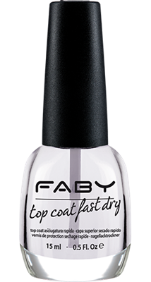 Faby nagellak - Top Coat