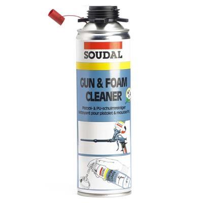Genoeg SOUDAL Click & Fix pistool/ pur reiniger 500 ml. FX57