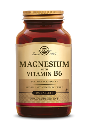 Magnesium with Vitamin B-6 (100 tabletten)