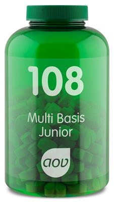 108 Multi Basis Junior (180 kauwtabletten)