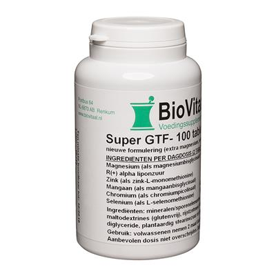 Super GTF-Complex (100 tabletten)