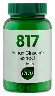 817 Panax Ginseng-extract 450 mg (60 capsules)