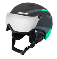 Visor Black & Green