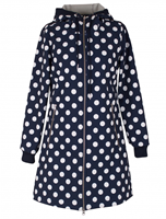 Navy/Offwhite Dots