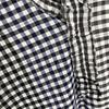 Forte Forte lurex check shirt nero