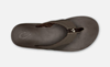 Olukai Nohona M - Dark Wood/Dark Wood Slipper Heren