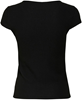 Onlnella s/s button top Black