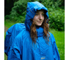 Lowland Backpackponcho Blue M Poncho