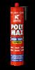 GRIFFON PolyMax High Tack express ZWART 435 gr.