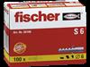FISCHER pluggen nylon S6 100 st.