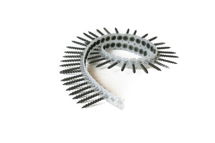 Gipsplaatschroeven op band fijn draad 3,6 x 45 mm PH2 gefosfateerd VOLDRAAD 1000 st.