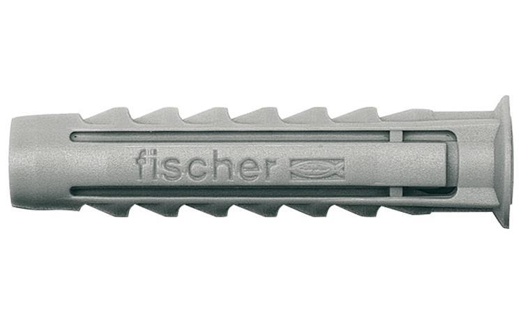 FISCHER pluggen nylon SX8 100 st.