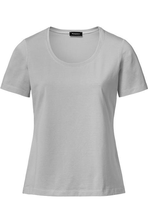Basis T-Shirt Licht Grijs