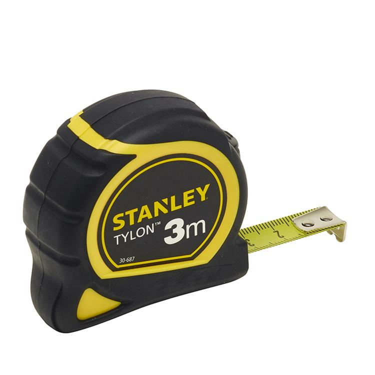 Stanley rolbandmaat Tylon 3m