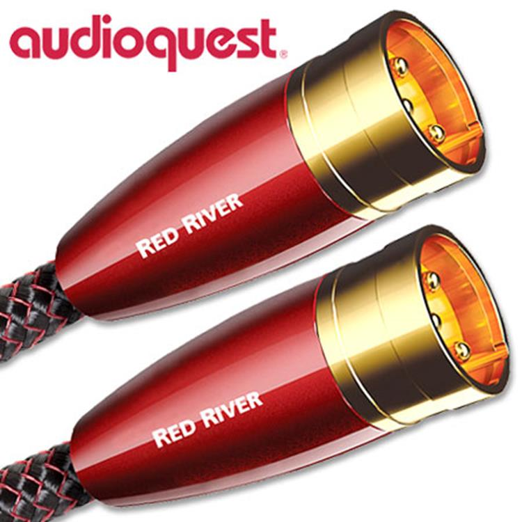 Audioquest Red River XLR-kabel 1.5m