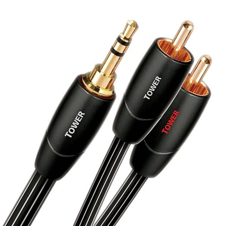 Audioquest Tower Jack-RCA kabel 1.5m