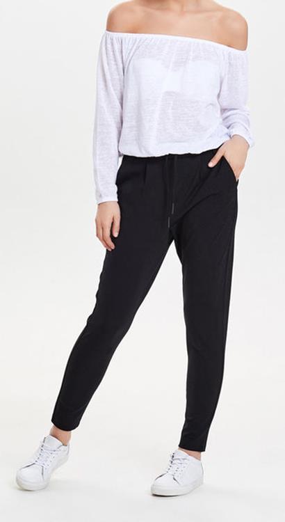 4656a3a63 only-poptrash-easy-colour-pant-black