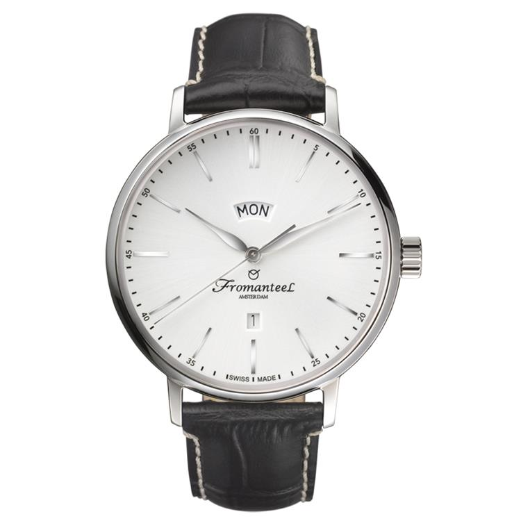 Fromanteel horloge generations big day white black