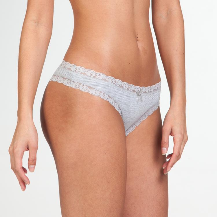 Chloe Thong Heather Mini Stripe