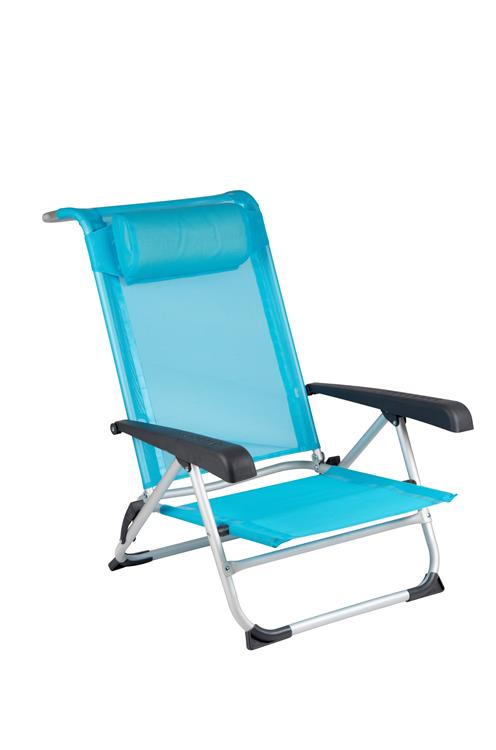 Red Mountain strandstoel Beach Deluxe Blue