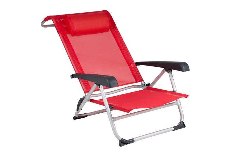 RED MOUNTAIN Aluminium Deluxe Beach Chair