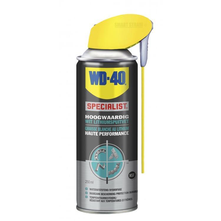 WD-40 Specialist wit Lithium Spuitvet 250 ml.