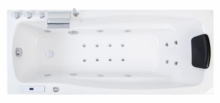 All-in Whirlpool Ocean 150 cm Rechts by The Bathing Factory