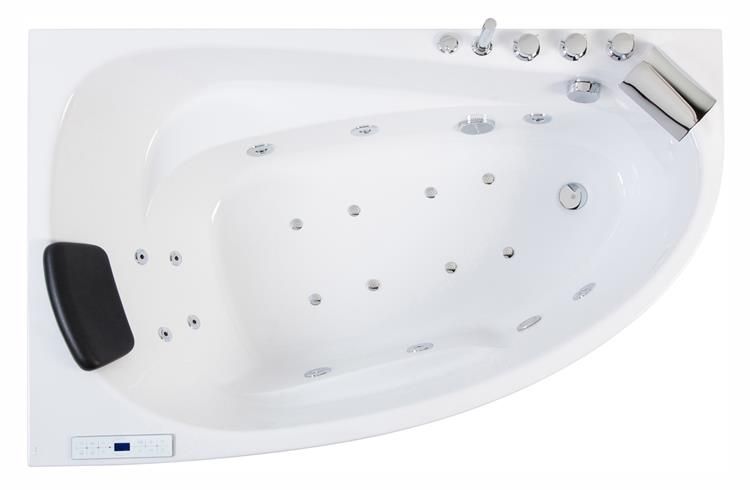 All-in Whirlpool Stardust 150 cm Links by The Bathing Factory