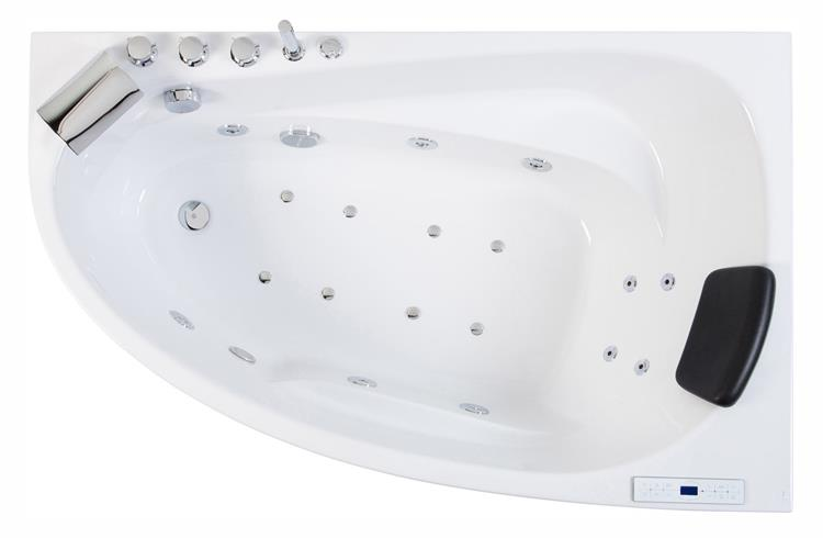 All-in Whirlpool Stardust 150 cm Rechts by The Bathing Factory