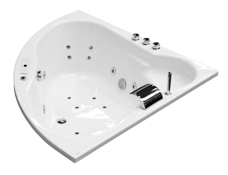 All-in Whirlpool EOS 140 cm by The Bathing Factory