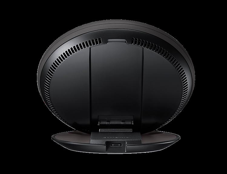 samsung induction charger convertible fast charging black. Black Bedroom Furniture Sets. Home Design Ideas
