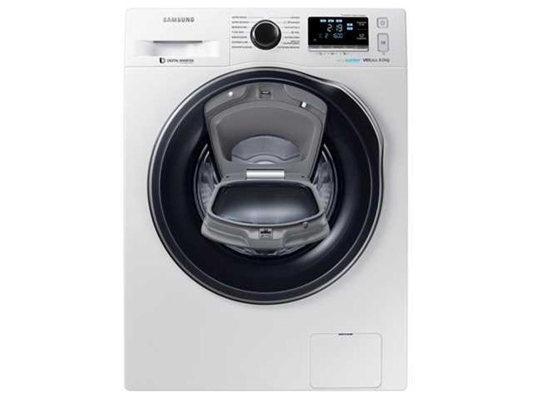 samsung ww80k6604qw addwash wasmachine 8kg. Black Bedroom Furniture Sets. Home Design Ideas