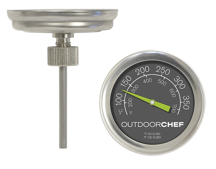 Outdoorchef Thermometer gaskogelbarbecues